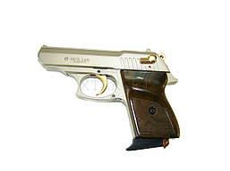 Сигнальный пистолет EKOL Lady 9 мм сатин с позолотой