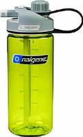 Бутылки для воды и спорта NALGENE с трубочкой MULTIDRINK 600ML зеленая
