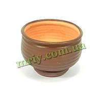 Горшок керамический для цветов Вазон №5 тамп
