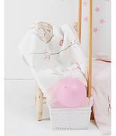 Детский плед в кроватку Karaca Home - Sweet Bird 2017-1 100*120