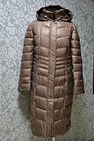 Длинное зимнее женское пальто Mishele 48, 50, 52, 54, 56, 58 размер