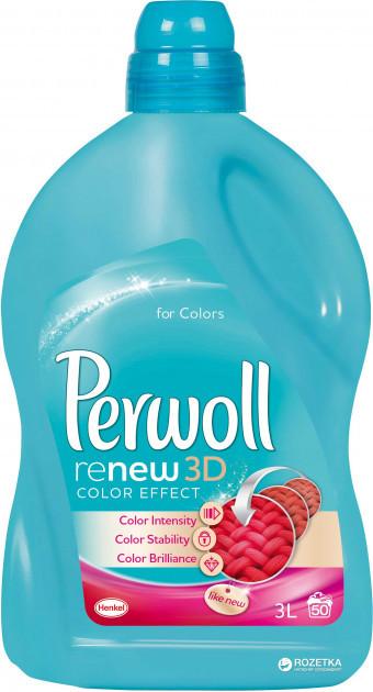 Гель для прання  Perwoll  color 3D 2.7 л