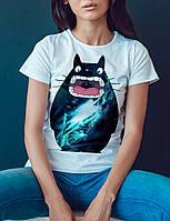 """Женская футболка """"Космический кот"""""""