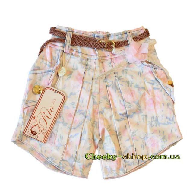 Нарядные шорты на девочку 3, 4, 5 лет