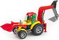 Трактор - экскаватор с погрузчиком серии Roadmax Bruder (20105)