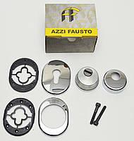 Защитная врезная броненакладка  Azzi fausto Antitubo (H-33 мм.) хром