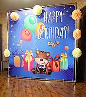 Пресс волл (press wall), фотозона, праздничные баннеры