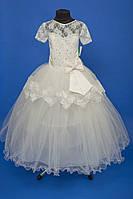 Белое нарядное детское платье