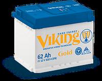 Аккумулятор Viking 62 Ah/12V (610) -+ Evro Gold Украина