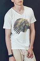 """Мужская футболка """"Индийский ворон"""""""