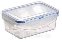 """Емкость для хранения 450 мл 90x135x50 с защелками герметичная из пищевого пластика  """"M-491"""" 1 шт."""