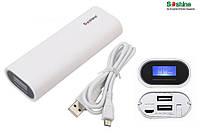 Power Bank Soshine E4 Dual USB, 2х18650, ток 2A, фото 1
