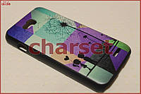 Чехол бампер на LG Optimus L90 пластик bp#01