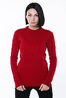 Зимний теплый свитер женский