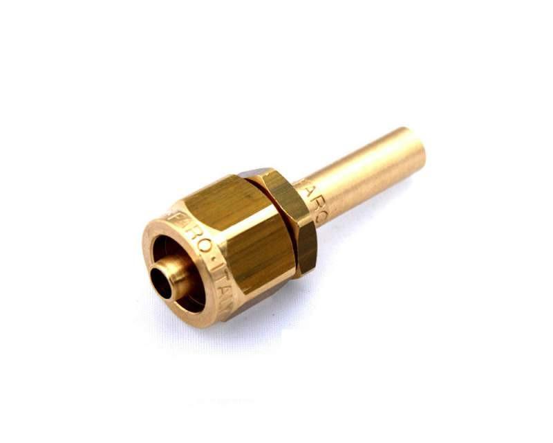 Штуцер Faro соединительный 8-8 для термопластиковой трубки прямой