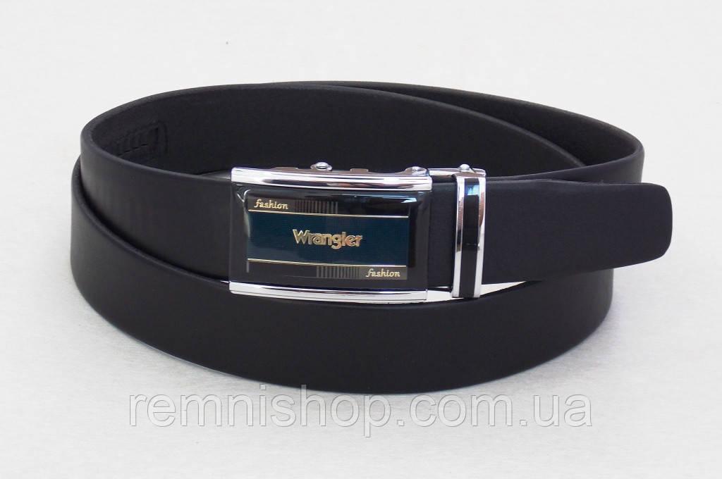 Чоловічий шкіряний ремінь-автомат Wrangler
