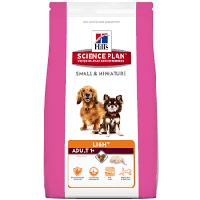 Hill`s SP ADULT LIGHT Small & Miniature 0.3 кг - низкокалорийный корм для собак мелких пород