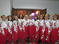 Украинский костюм женский. Коломыйка-3