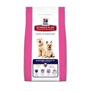 Hill`s SP MATURE ADULT Small & Miniature 0.3 кг - корм для собак мелких пород от 7 лет