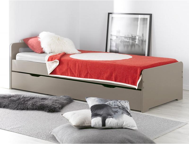 Кровать для подростка Junior Provence Lit Gigogne Feroe Lin