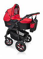 Детская универсальная коляска 3 в 1 Verdi Sonic, 01 черный/красный