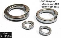 Шайба пружинная М30 гровер DIN 127, нержавеющая сталь А2 и А4