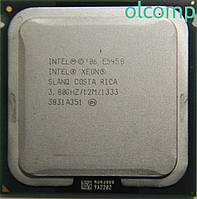 Intel Xeon E5450 (SLANQ, 12M Cache, 3.00 GHz, 1333 MHz FSB) + перехідник