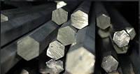 Шестигранник сталь 20, 35, 45, 20Х, 40Х  калибров.    ГОСТ 8560-78, 1051-73, 4543-71