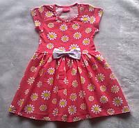 Платье для Девочки Ромашки Рост 86-92 см