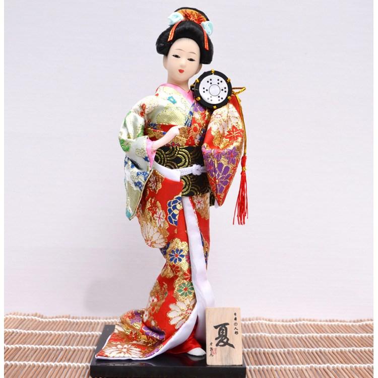 Японская кукла «Красавица с барабаном»