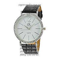 Женские наручные часы с камушками Calvin Klein SSBN-1004-0035