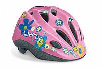 Детский велосипедный шлем LYNX Kids  розовый