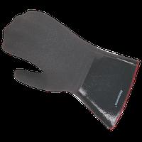 Рукавиці для захисту рук від гарячого масла (до 260°C, жар, пар, гаряче масло), 356 мм