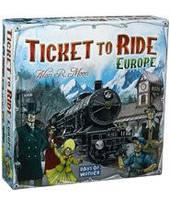 Билет на поезд: Европа (англ) (Ticket to ride: Europe) настольная игра