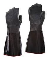 Рукавицы для защиты рук от горячего масла (до 260°C, жар, пар, горячее масло), 407 мм