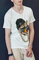 """Мужская футболка """"Тигр"""""""
