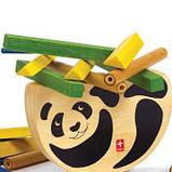Дерев'яна іграшка-балансир з бамбука Hape Pandabo, фото 2