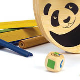 Дерев'яна іграшка-балансир з бамбука Hape Pandabo, фото 5