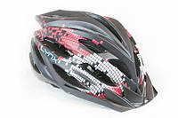 Шлем велосипедный LYNX Livigno черный, фото 1