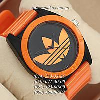 Стильные женские наручные часы Adidas Log 0927 Orange\Black