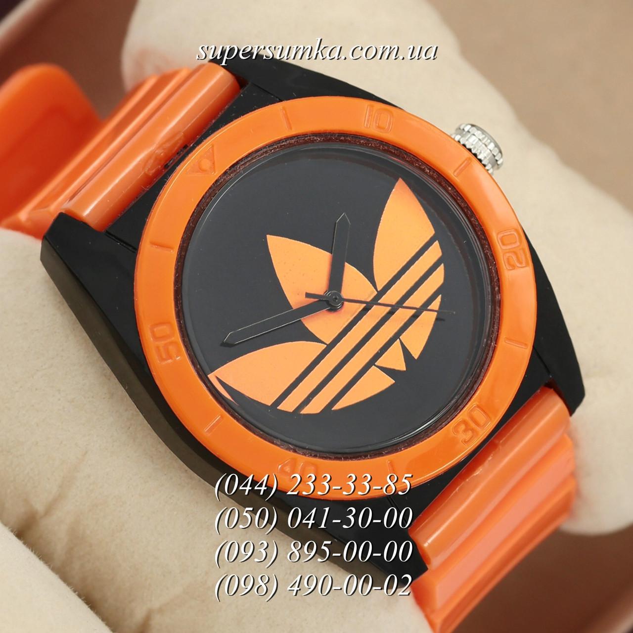 Стильные женские наручные часы Adidas Log 0927 Orange\Black - SUPERSUMKA интернет магазин в Киеве