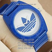 Оригинальные женские наручные часы Adidas Log 0927 Blue\White