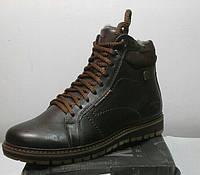 Ботинки мужские Riccone с натуральной кожи качественные, фото 1