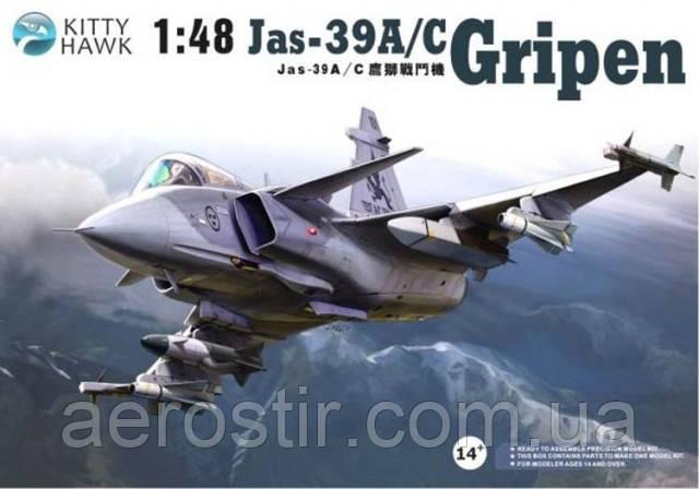 Jas-39A/C GRIPEN 1/48 Kitty Hawk 80117