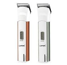 Бодигумер, триммер для бороды Gemei 698, съемный аккумулятор, регулируемая насадка, щетка для чистки. Триммер, фото 2