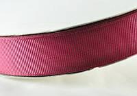 Репсовая лента 25мм 91м вишня(0083) ЛР25-1062