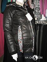 Зимняя куртка 2 в 1. Черный