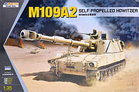 Самоходная 155мм.гаубица M109A2 1/35 KINETIC 61006