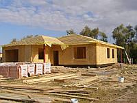 Жилой дом по бескаркасной технологии