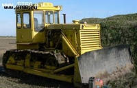 Бульдозер ДТ-130, услуги бульдозера, земляные работы, аренда бульдозера